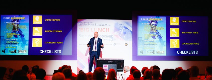 AMROS Promotions BIG LUNCH Sir Clive Woodward